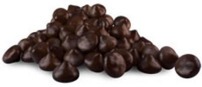 Picture of Chocolate - Plamil Organic Rich 60% Easy Melt Vegan Baking Chocolate drops  1kg re-sealable pack. Delicious!
