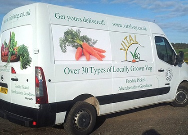 Vegetable Delivery Aberdeen