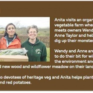 Vital Veg, organic farm, BBC1 Countryfile with Anita Rani